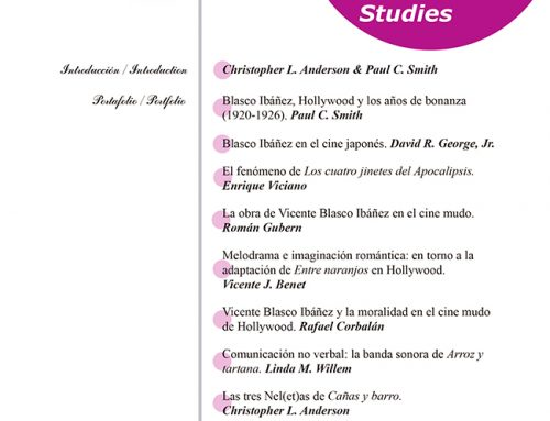 Journal of Blasco Ibáñez Studies nº 3