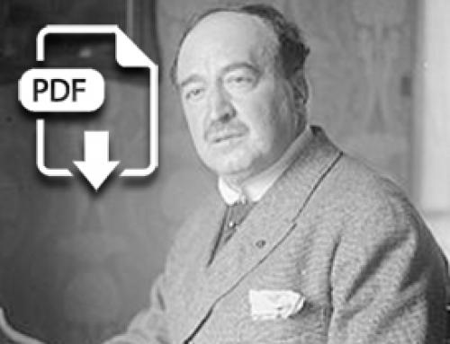 S. Trevijano, Unos días con Blasco Ibáñez, Correo de la Mañana (1924-10-19)